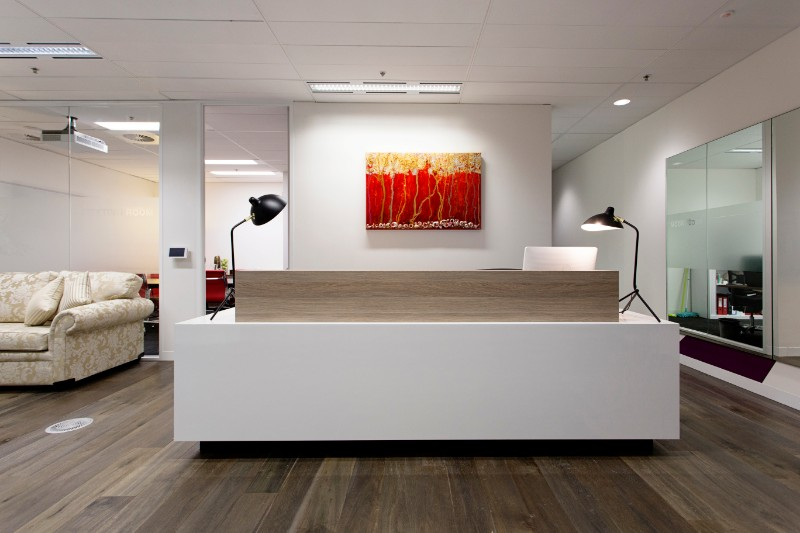 Serviced Office Reception Collins St