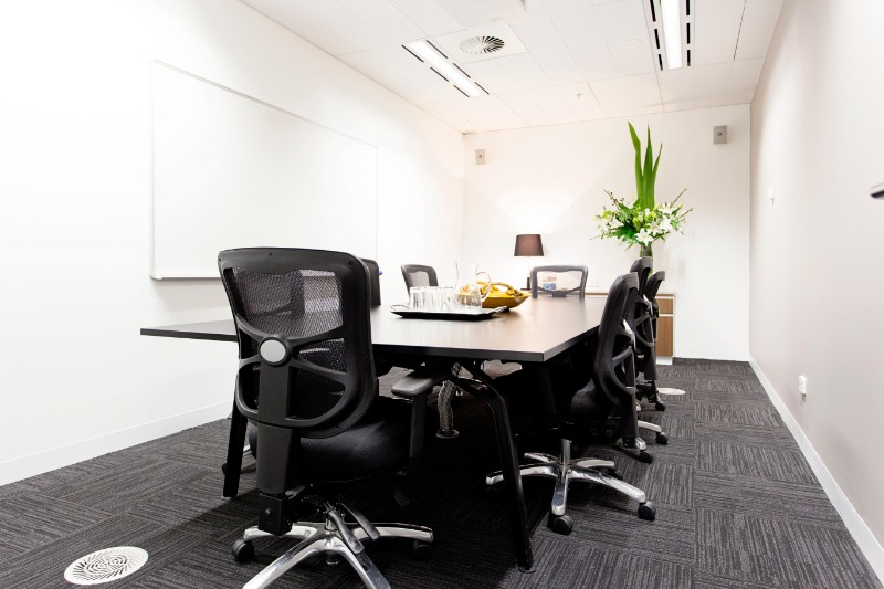Collins St Serviced Office Boardroom