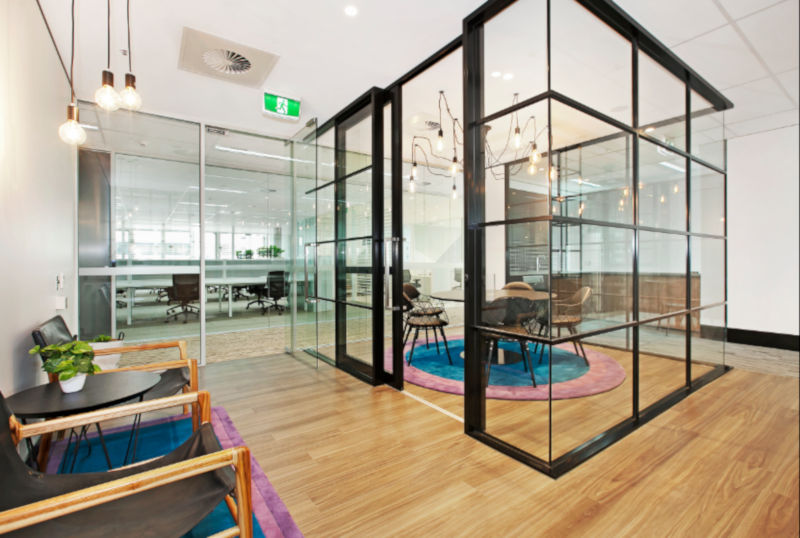 Brisbane Serviced Office Break Out Area